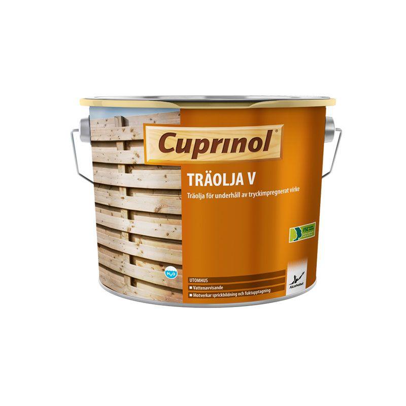 Mellanprodukten: Träolja V Cuprinol 4,65l