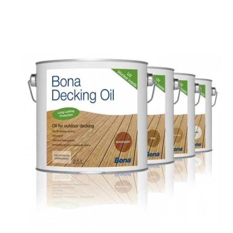 Olja För Trädäck Bona