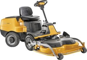 Åkgräsklippare Stiga Rider E-Park 220 Electric, inkl 95 QF Combi