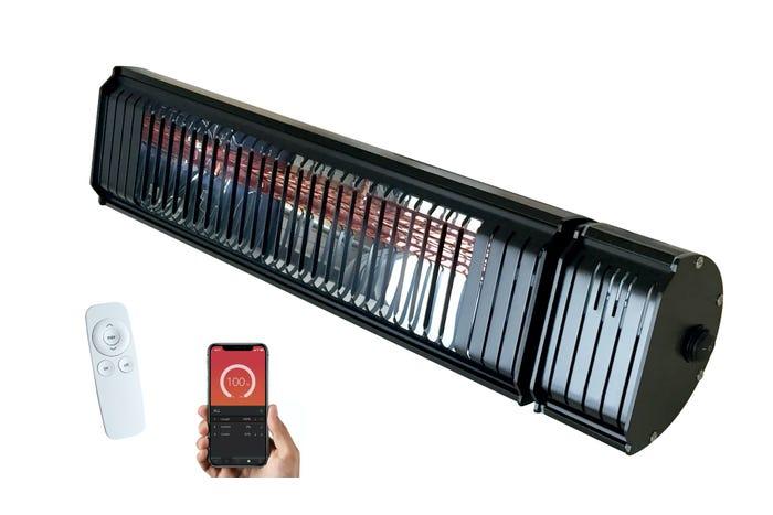 Infravärmare NOA Heatflow Svart Med Fjärrkontroll