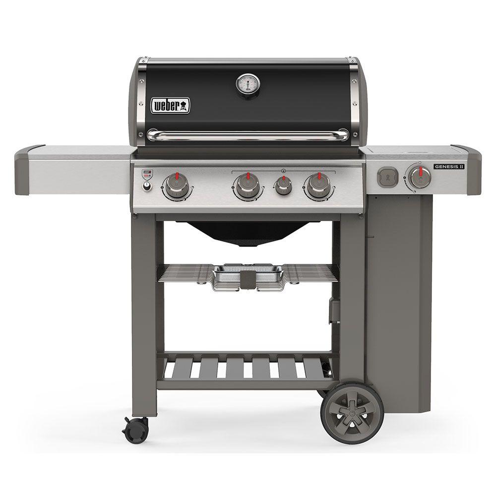 Weber Genesis® II E-330 GBS Gasolgrill svart